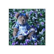"""Bluebeary_In_Blueberries Square Sticker 3"""" x 3"""""""