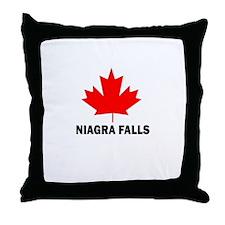 Niagra Falls Throw Pillow