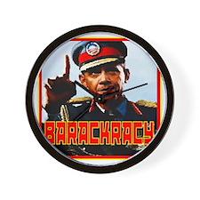 Barackracy Wall Clock