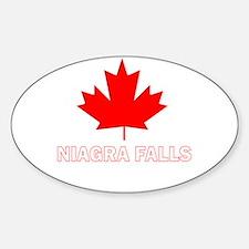 Niagra Falls Oval Decal