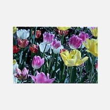 Flower_Garden Rectangle Magnet