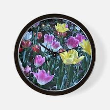 Flower_Garden Wall Clock