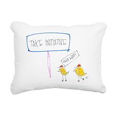 Lead the Way Rectangular Canvas Pillow