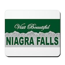 Visit Beautiful Niagra Falls Mousepad