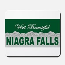 Visit Beautiful Niagra Falls Mousepad