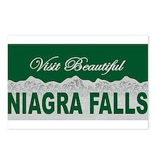 Visit Beautiful Niagra Falls Postcards (Package of