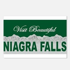 Visit Beautiful Niagra Falls Postcards (Package of