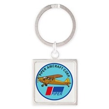 Piper Aircraft Corporation Abzeich Square Keychain