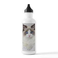Ragdoll Kitten Water Bottle