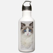 Ragdoll Kitten Water Bottle