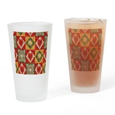 Heart Patchwork... Drinking Glass