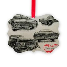 '67 Chevy Impala Ornament