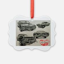 '67 Chevy Impala Ornament