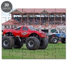 Monster Trucks have arrived Puzzle