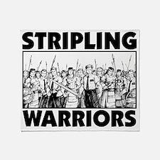 Stripling Warriors Throw Blanket