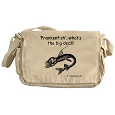 Frankenfish Messenger Bag