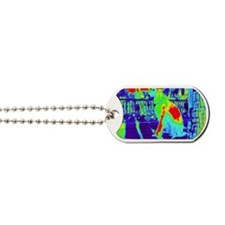 Borzoi - Indio CA. Thermal image Dog Tags