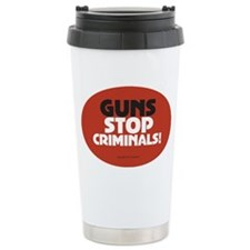 OTG 25 Guns Stop Crimin Travel Coffee Mug