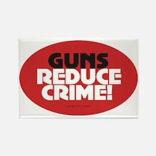 OTG 31 Guns Reduce Crime Sticker Rectangle Magnet