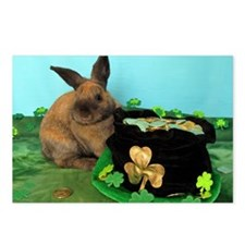 Buddy the Lucky Bunny Postcards (Package of 8)