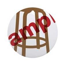 Stool Sample Round Ornament