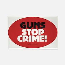 OTG 24 Guns Stop Crime Sticker Rectangle Magnet
