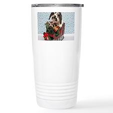 Dudley in Winter Sleigh Travel Mug