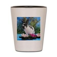 Buttercup Bunny on Lily Pads-2 Shot Glass