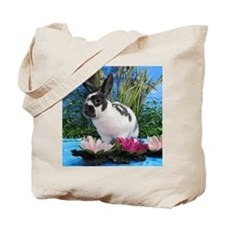 Buttercup Bunny on Lily Pads-2 Tote Bag