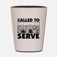 Called To Serve Shot Glass