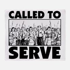 Called To Serve Throw Blanket