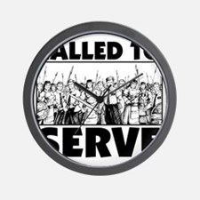 Called To Serve Wall Clock