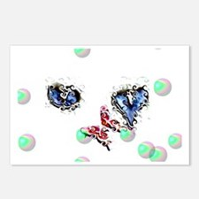 Blue-etes Postcards (Package of 8)