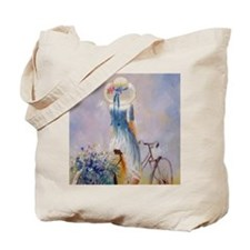 vb_Square Canvas Pillow Tote Bag