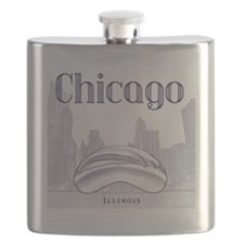Chicago_10x10_ChicagoBeanSkylineV1_Blue Flask
