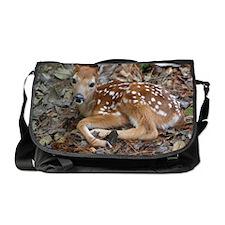 White-tailed Deer Fawn Messenger Bag