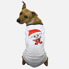 Skydiving Santa Dog T-Shirt