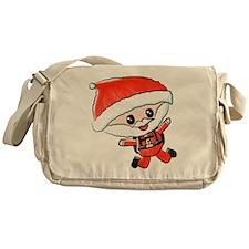 Skydiving Santa Messenger Bag