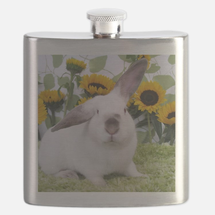 Presto with Sunflowers-1 Flask