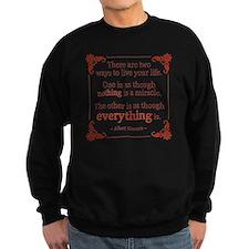 Einstein on Miracles Sweatshirt