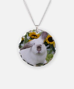 Presto with Sunflowers-1 Necklace