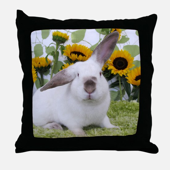 Presto with Sunflowers-1 Throw Pillow