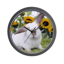 Presto with Sunflowers-1 Wall Clock
