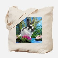 Buttercup Bunny on Lily Pads-1 Tote Bag