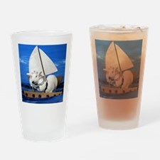 Kirby and Dexter Sailing Drinking Glass