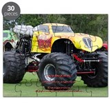 Monster trucks Puzzles