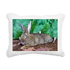 Fezzik in the Woods-2 Rectangular Canvas Pillow