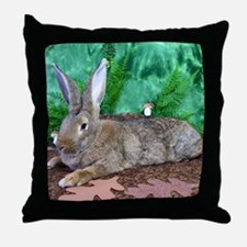 Fezzik in the Woods-2 Throw Pillow