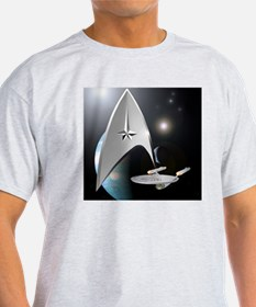 Star Trek Shower Curtain T-Shirt