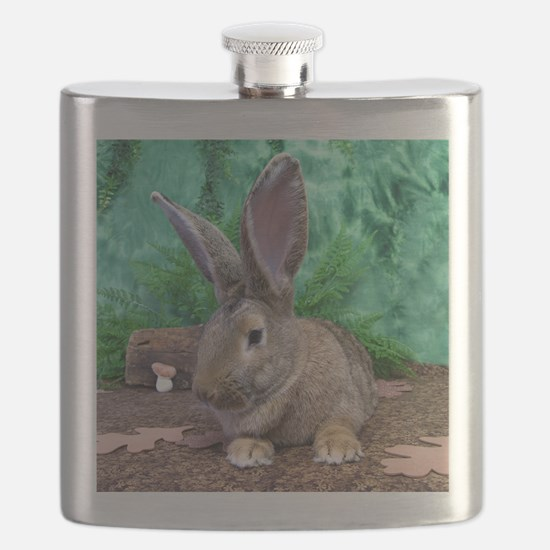 Fezzik in the Woods-1 Flask